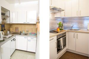 Vorher - Nachher Küche