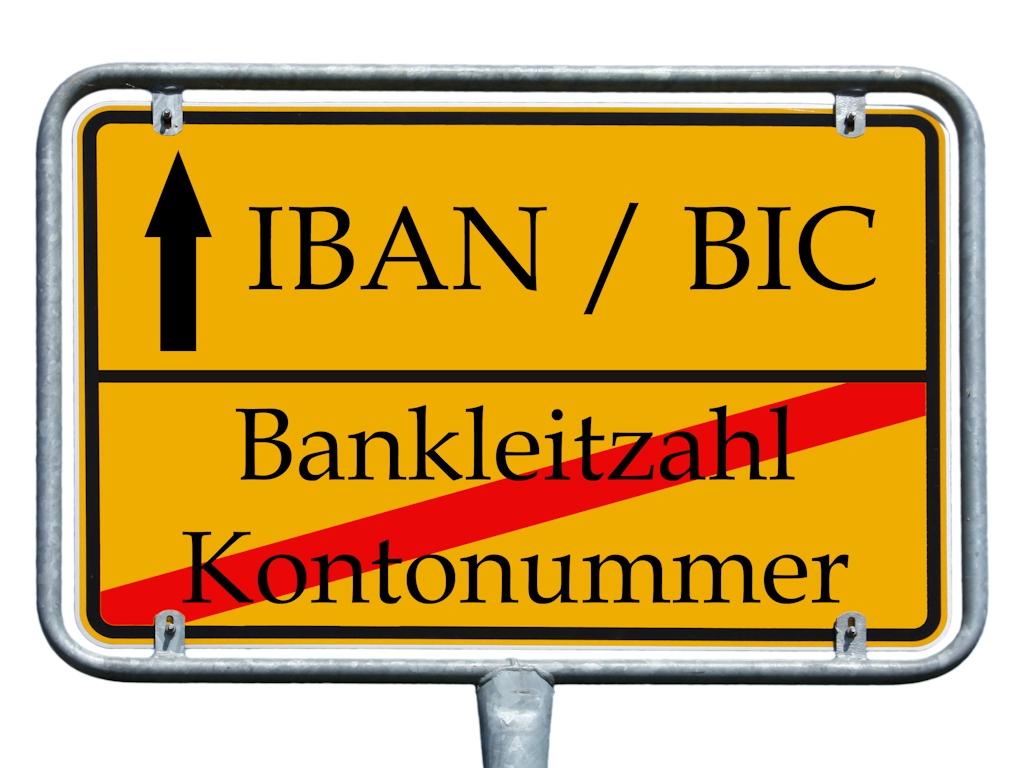 IBAN - Hinweise zur Umstellung im Inlandszahlungsverkehr