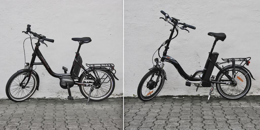 Kompakt- und Falt-E-Bike